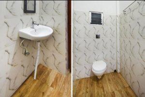 Hotel Washroom at Sundarban